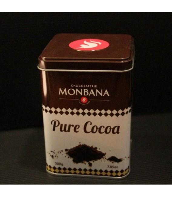 chocolat en poudre 100% cacao pur