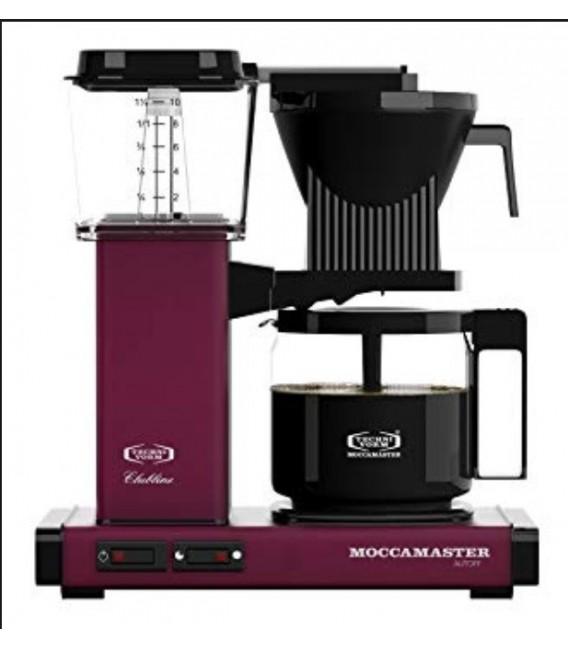 Moccamaster Cafetière Filtre KBG741 AO Cassis 1,25 L