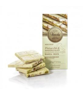"Tablettes chocolat blanc pistaches ""Venchi"""