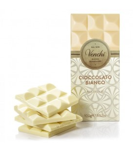 """Tablettes chocolat blanc  """"Venchi"""""""