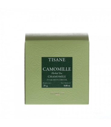 Camomille 25 sachets cristal