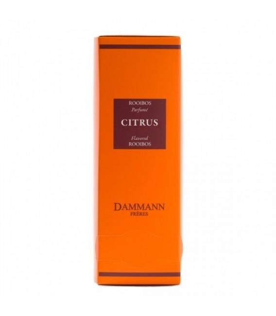 Rooibos Citrus 24 sachets cristal suremballé