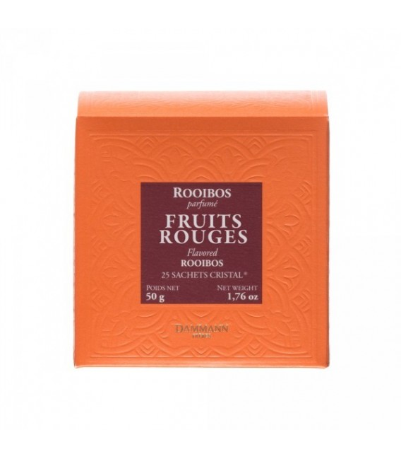 Rooibos Fruits Rouge 25 sachets cristal