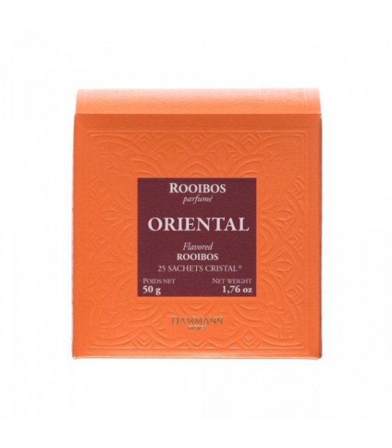 Rooibos Oriental 25 sachets cristal